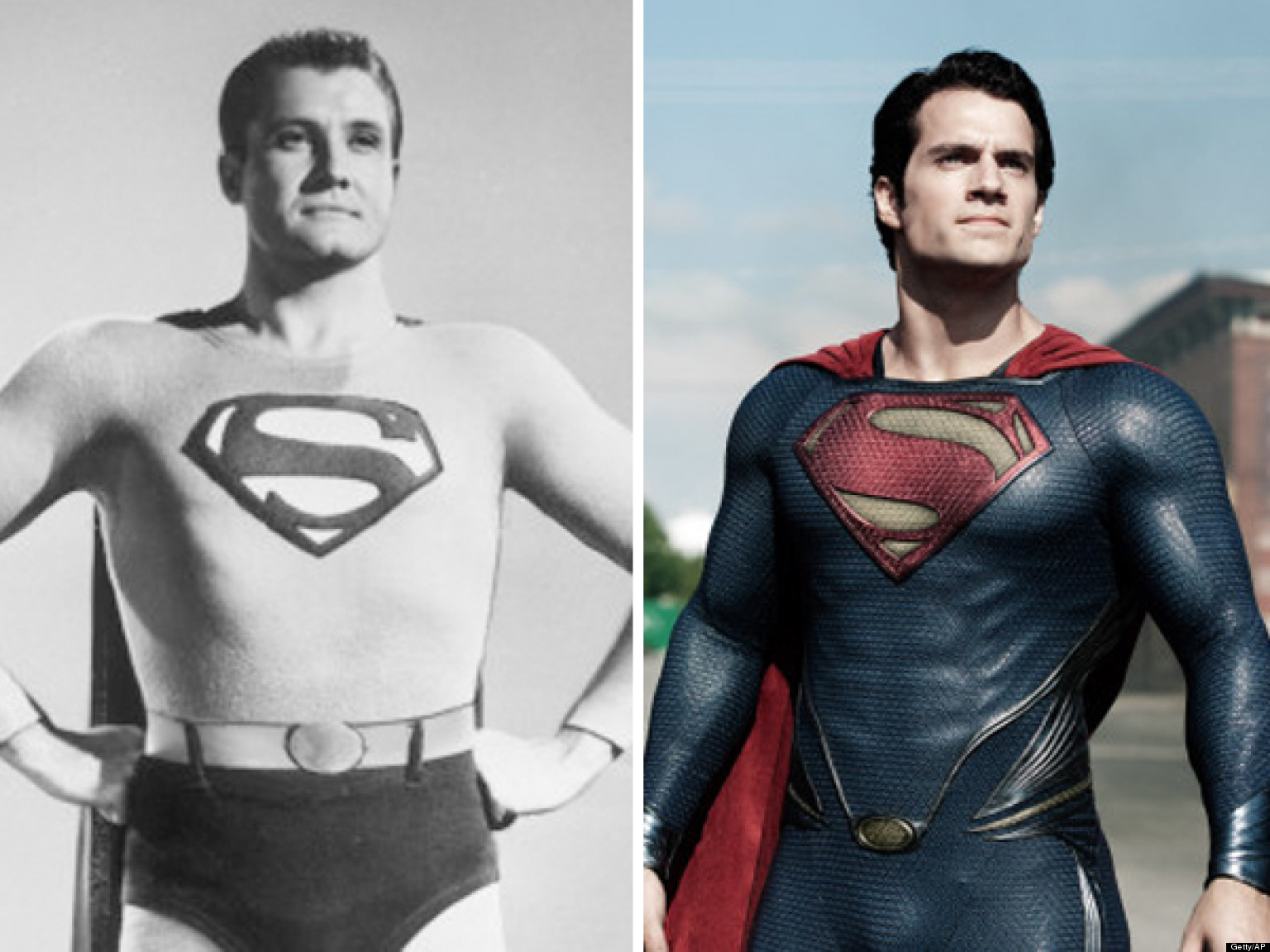 the changing face of superman actors who have portrayed