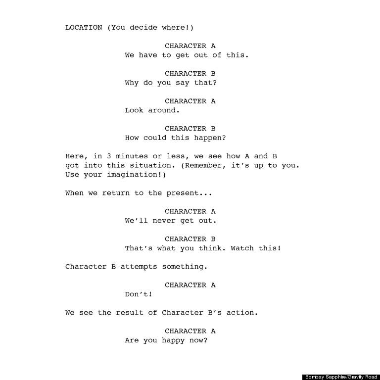 imagination script