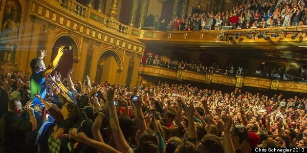 Fillmore Detroit Doing It Right Venue S Milestone Underscores Record Year For Downtown Theatre Huffpost