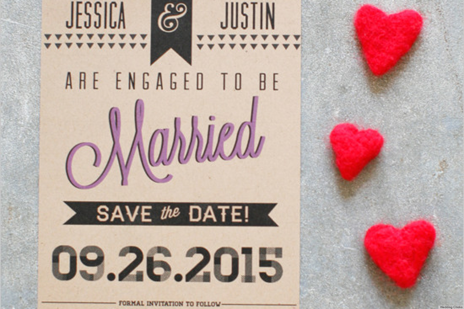 12 Free Printable Save The Date Cards Stylish Enough For Your Wedding Photos Huffpost