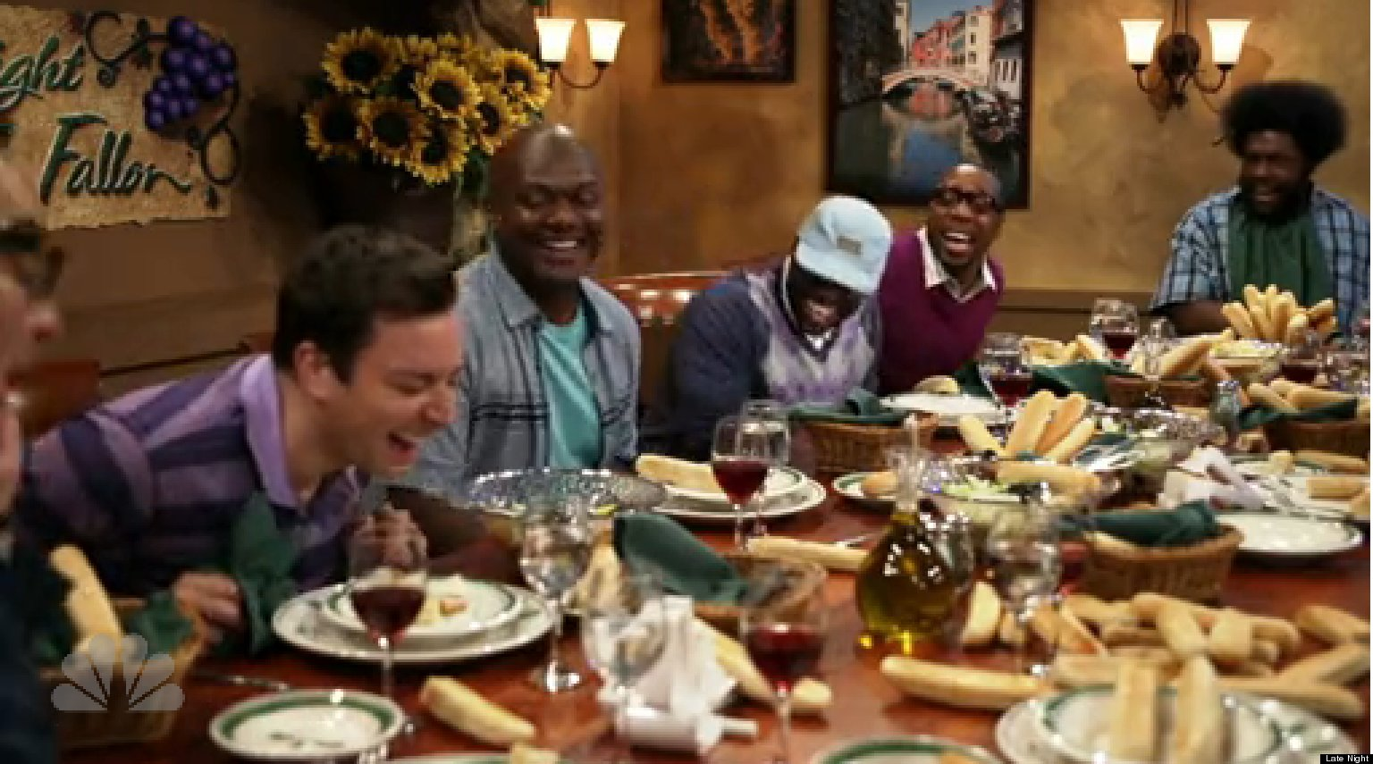 Jimmy Fallon Olive Garden Parody Is Spot-On (VIDEO) | HuffPost