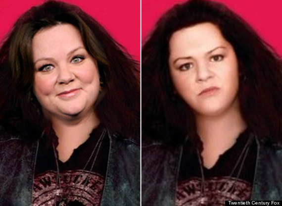 Melissa McCarthy Victim Of Worst Ever Photoshop Job On ...