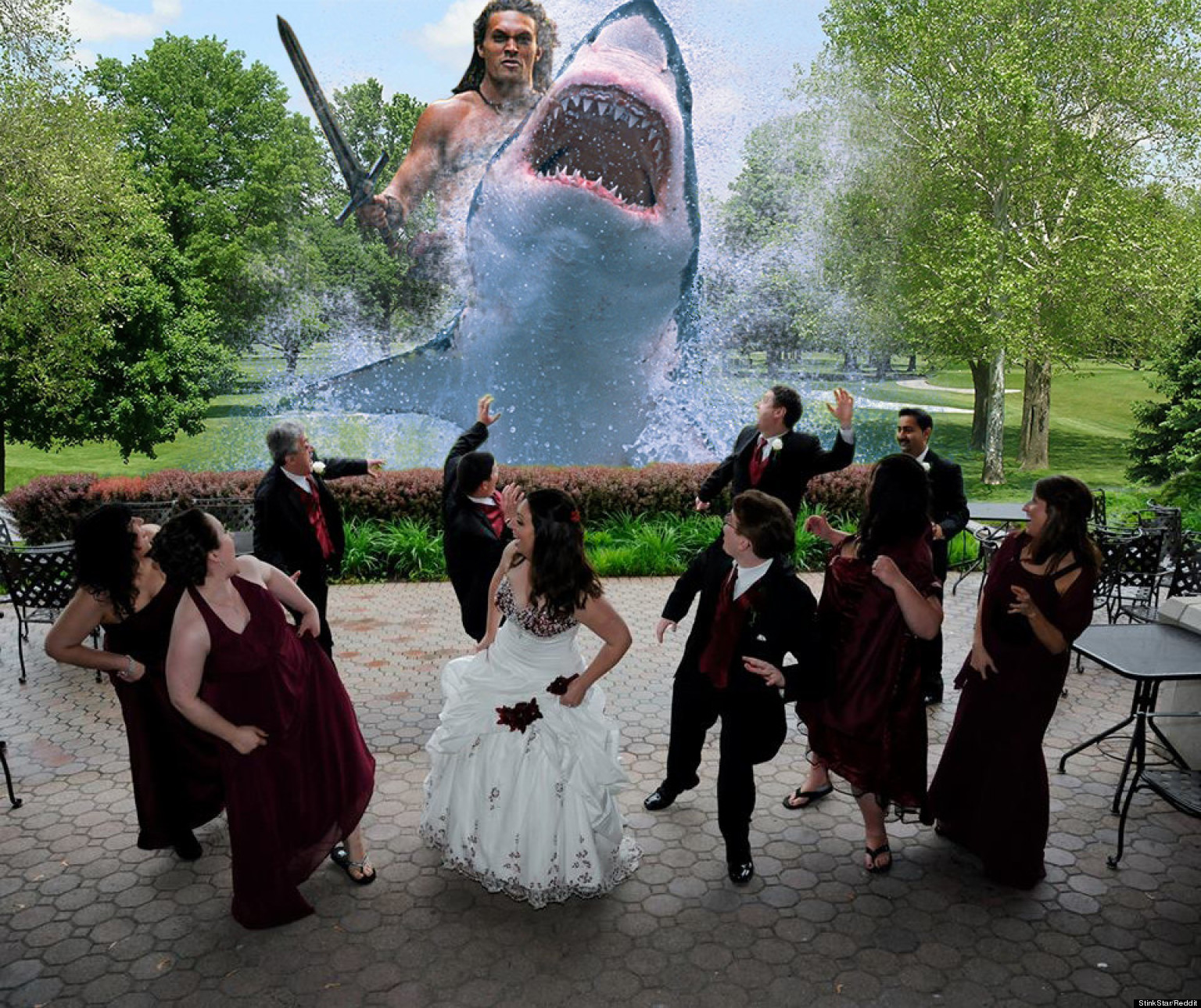 Funny Wedding Photo Trend Isn't So Funny Anymore