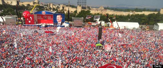 turkey protest rally erdogan