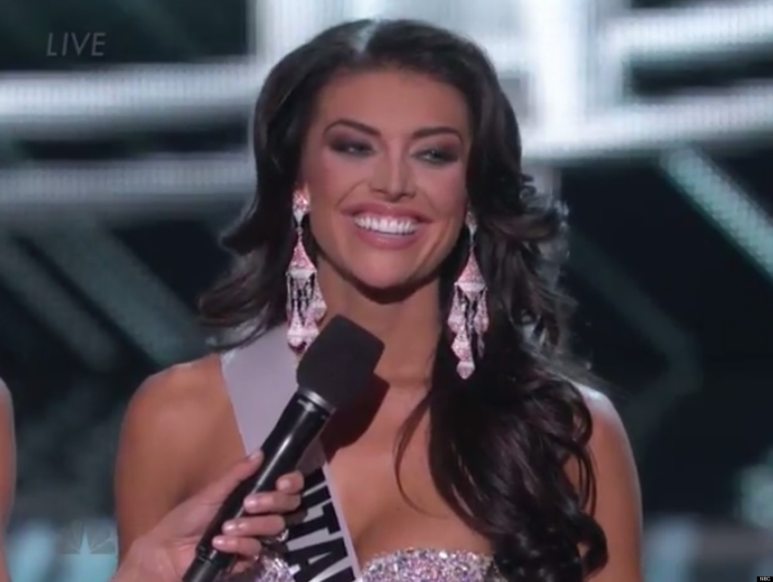 WATCH: Miss Utah Fumbles Interview Question at Miss USA