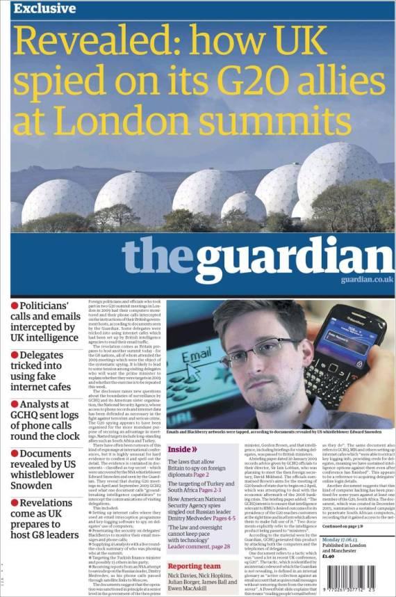 periódico the guardian
