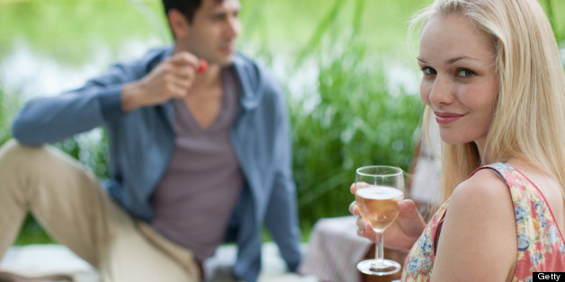 Picnics aren't complete without a glass of wine