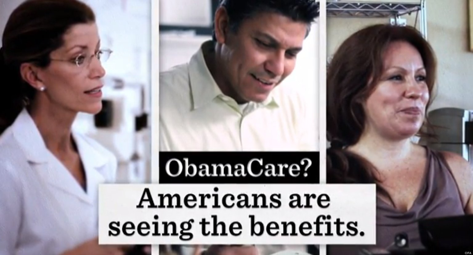 a look into the obamacare advertisement campaign Obamacare facts provides unbiased look at our section on obamacare and medicare for the facts and then $716 billion is reinvested back into obamacare and.