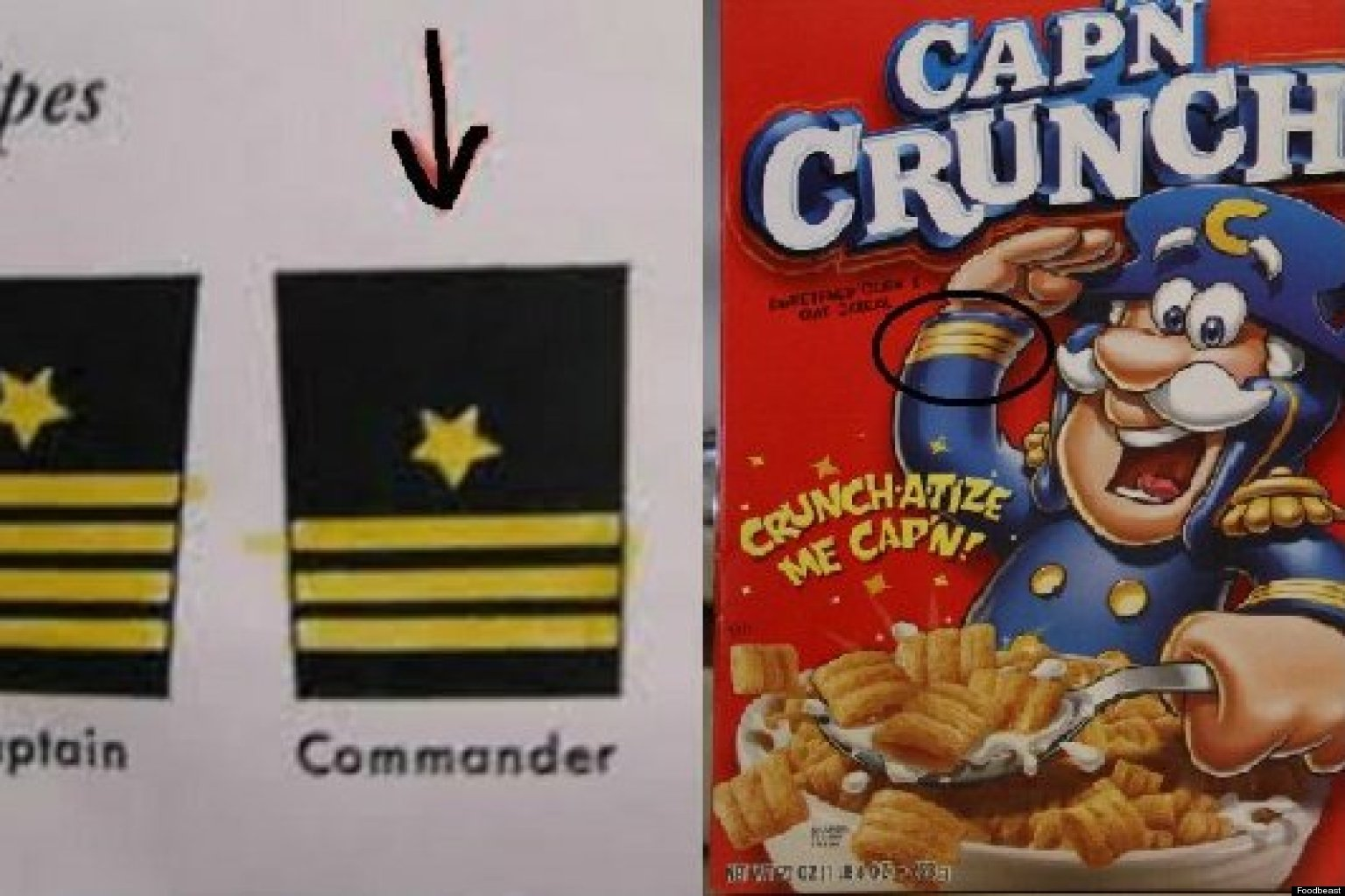 Today I Learned Cap N Crunch Is A Liar And A Fraud Huffpost