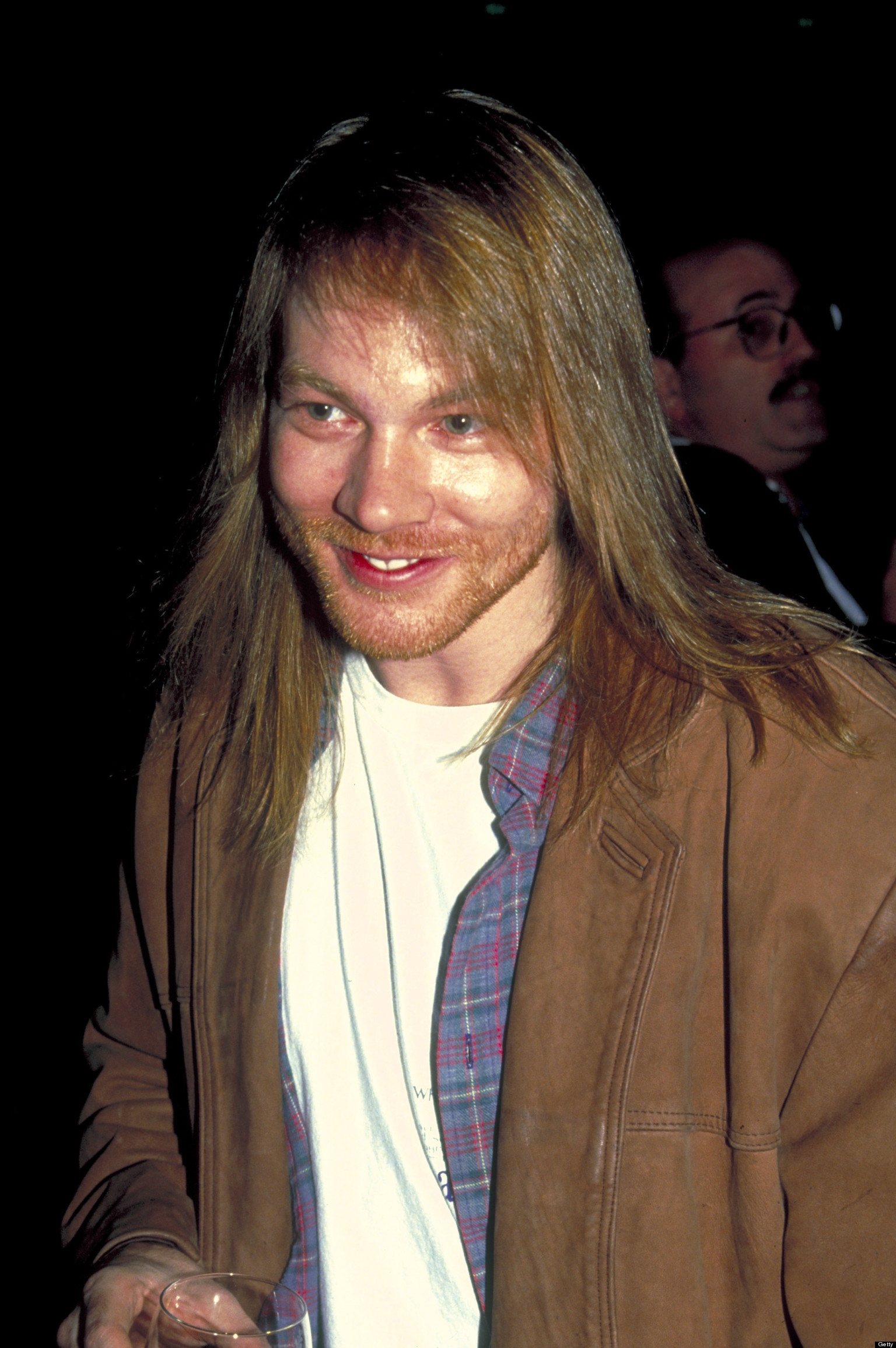 axl rose is unrecognizable at yard sale in nyc photos