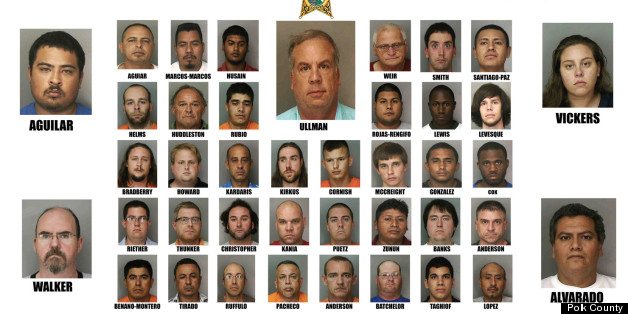 41 Child Sex Crime Suspects Arrested By Polk County Sheriff's Office