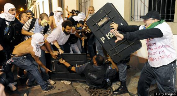 brazil policeman