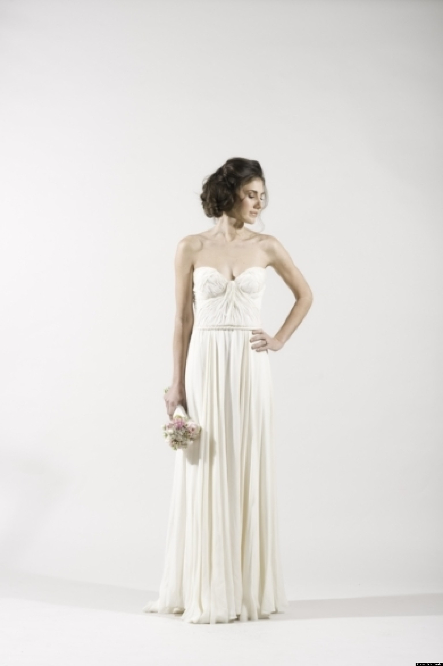 Grecian wedding dresses for a goddess inspired look for Grecian goddess wedding dresses