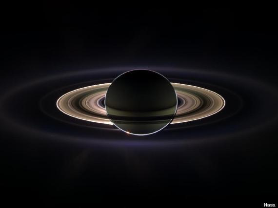 earth picture saturn cassini