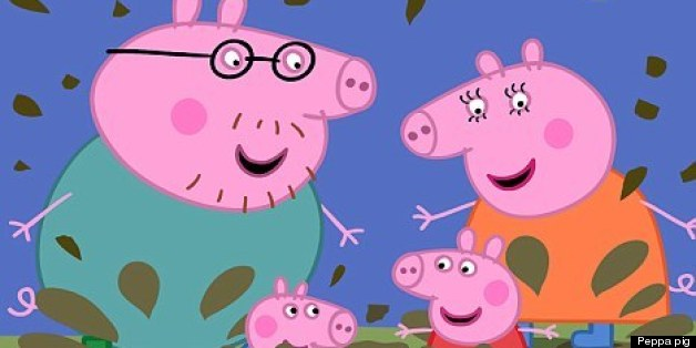 Peppa pig's Facebook was hacked