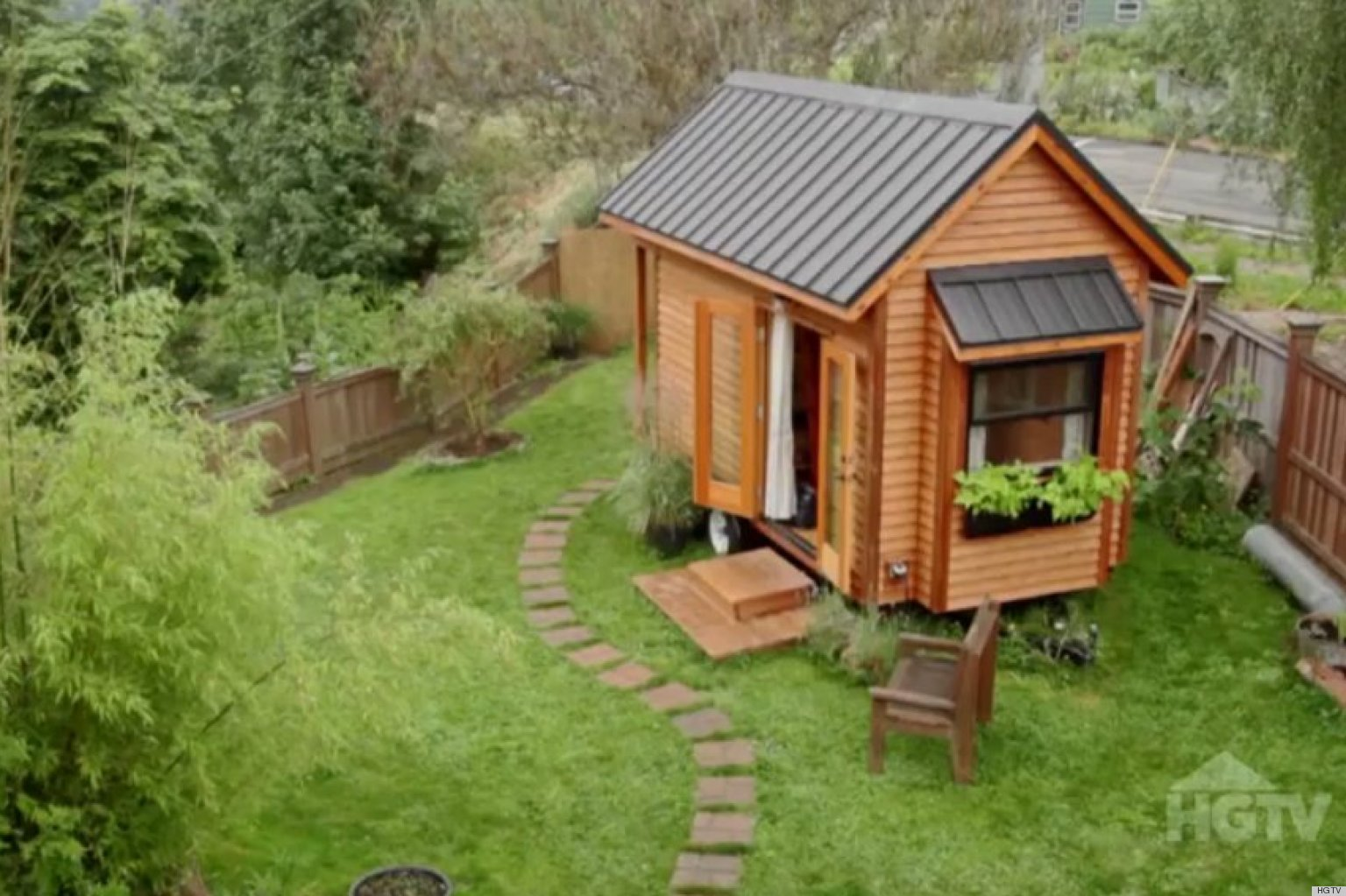 Tammy Strobels 128 Square Foot Tiny Home Gets Featured On HGTVs Extreme Homes VIDEO