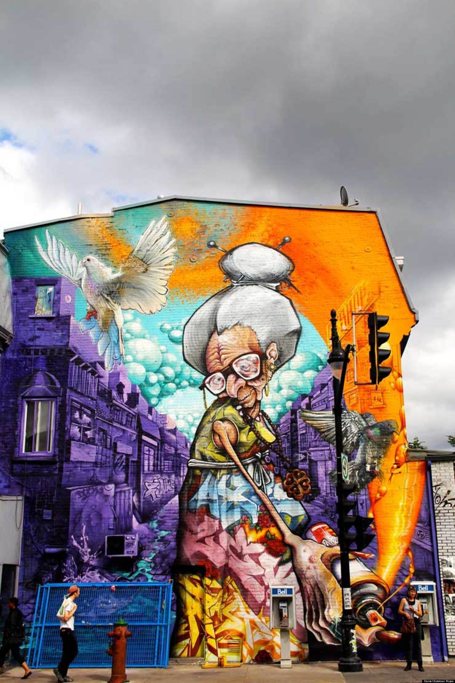 Mural festival in montreal stakes a claim for street art north huffpost