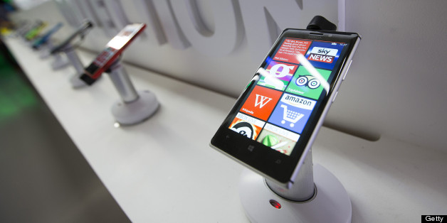 A Nokia Lumia 925 Windows Phone