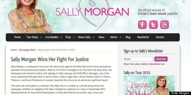 Sally Morgan won her court case