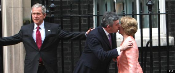 awkward political kisses