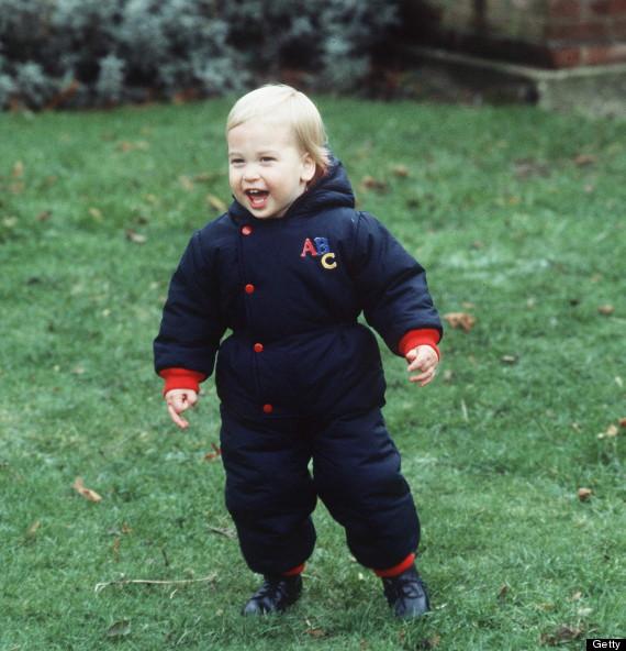 prince william toddler