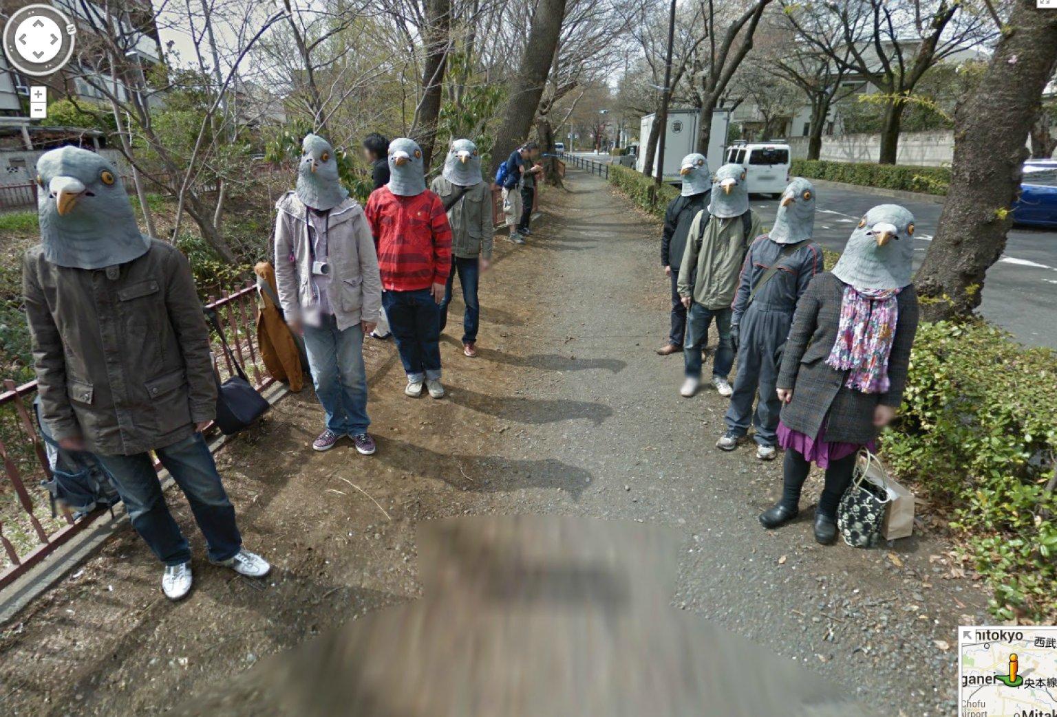 Googe Maps%0A Japan u    s Google Street View Pigeonheads Are Hilariously Creepy O JAPAN GOOGLE  STREET VIEW Facebook Japan Google