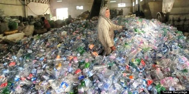 Dépôt de tri de Tunisie Recyclage