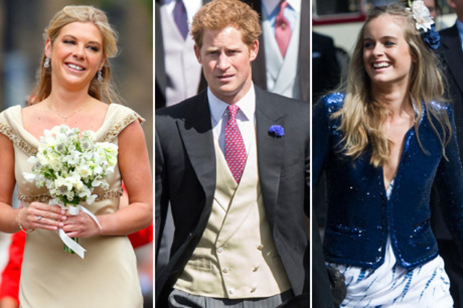 Prince Harry Wedding Weekend Includes Cressida Bonas And Chelsy Davy Photos Huffpost