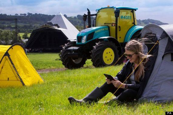 glastonbury tractor