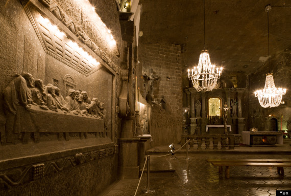wieliczka and bochnia royal salt mines