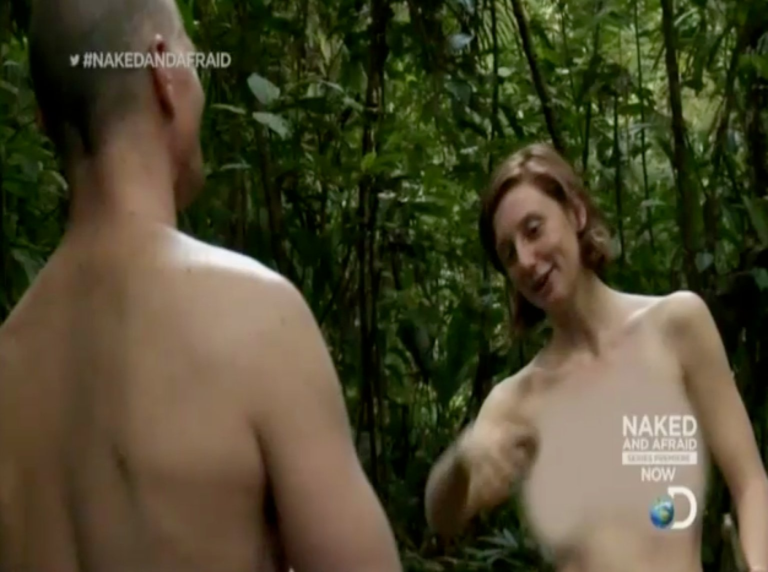 Hot naked and afraid woman pic 967
