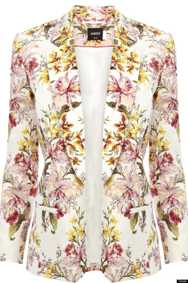 botanical iris jacket