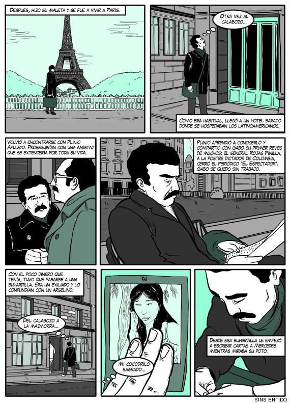 gabriel garcia marquez comic