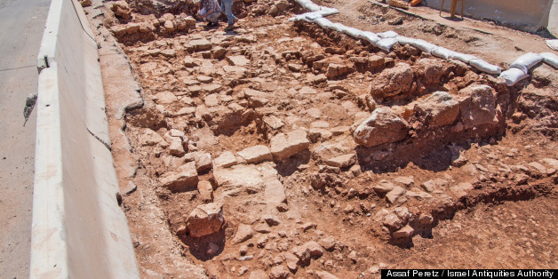 Ancient Roman Road Unearthed In Jerusalem (PHOTOS)