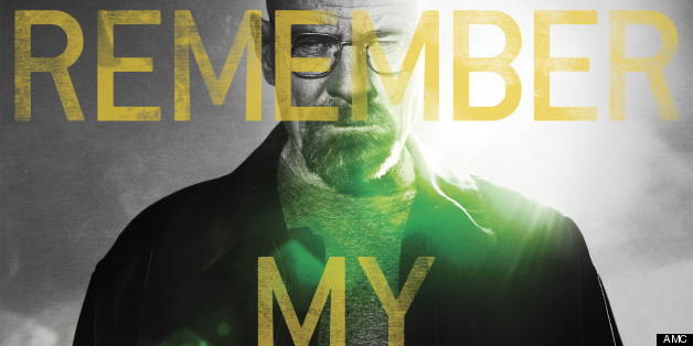 Breaking Bad Poster Features Walter White And Remember My Name ...