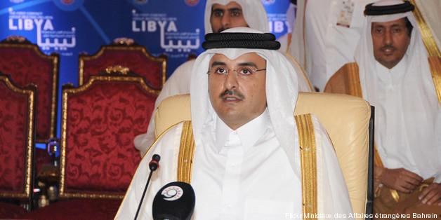Tamim bin Hamad Al Thani, 13 avril 2011, Bahrein