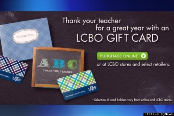 lcbo gift card kids
