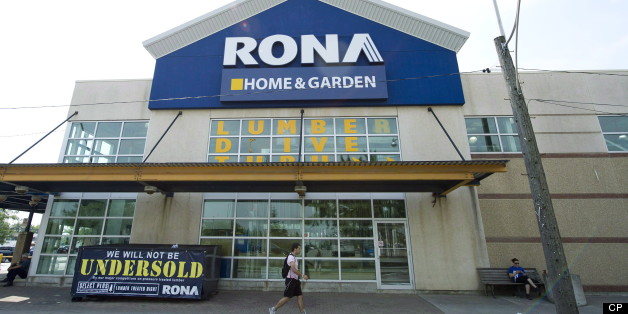 A Rona store is shown in Toronto on July 31, 2012. profitability. Rona Inc. will close 11 unprofitable stores two provinces and cut more administration jobs as part of its ongoing cost-cutting and restructuring efforts, the Quebec-based home improvement retailer announced Thursday. (THE CANADIAN PRESS/Nathan Denette)