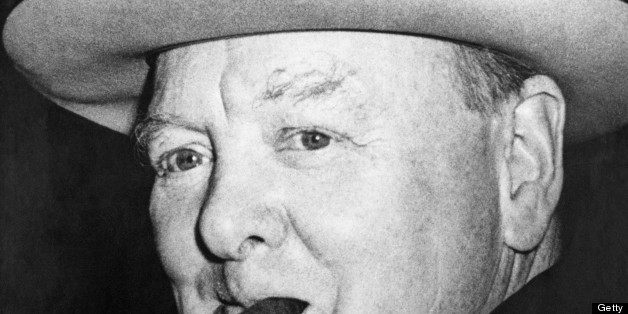 Was Churchill in admiration of the Nazi Fuhrer?