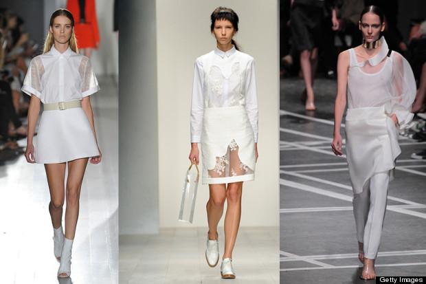 white fashion trend 2013