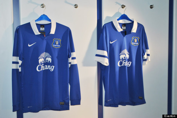 everton nike kit