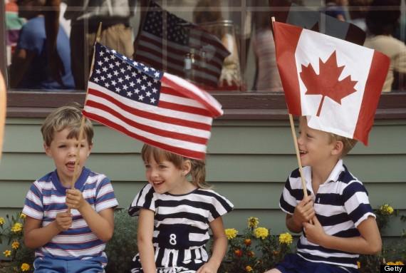canadian flag new york