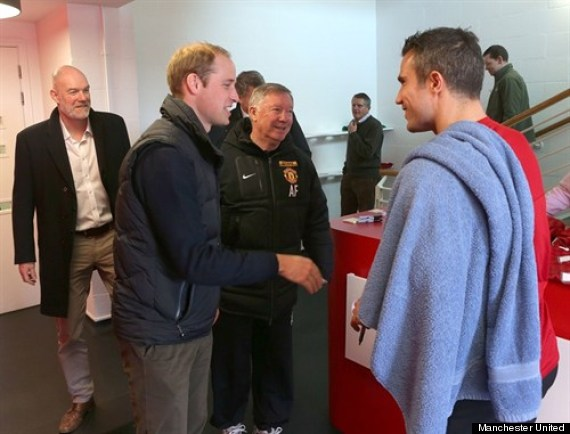 prince william manchester united