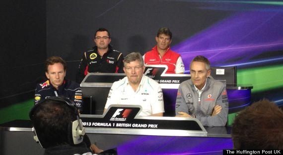 f1 press conference