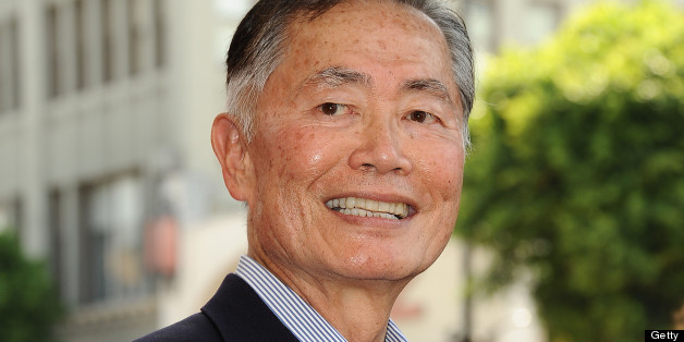 HOLLYWOOD, CA - SEPTEMBER 10:  George Takei attends Walter Koenig's induction into the Hollywood Walk of Fame on September 10, 2012 in Hollywood, California.  (Photo by Jason LaVeris/FilmMagic)