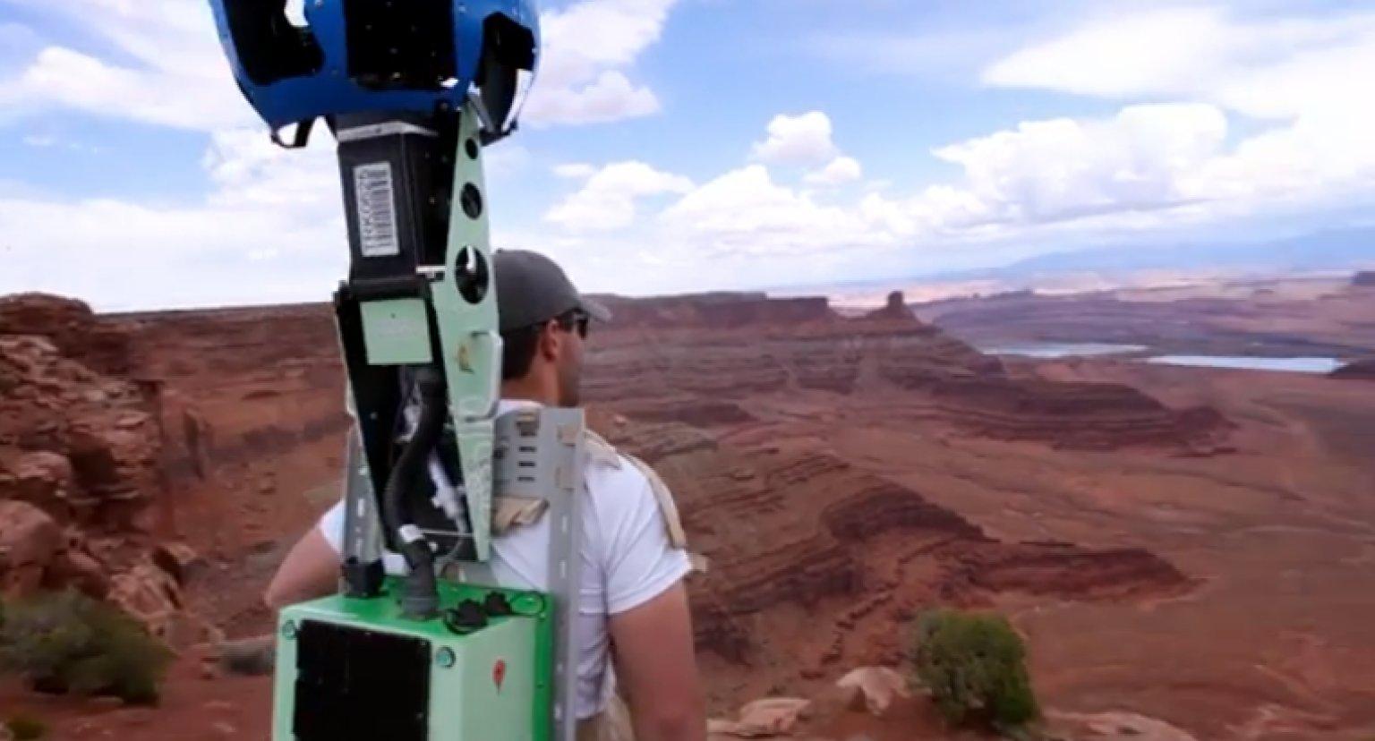Take Google Trekker On An Adventure And Help Street View ...