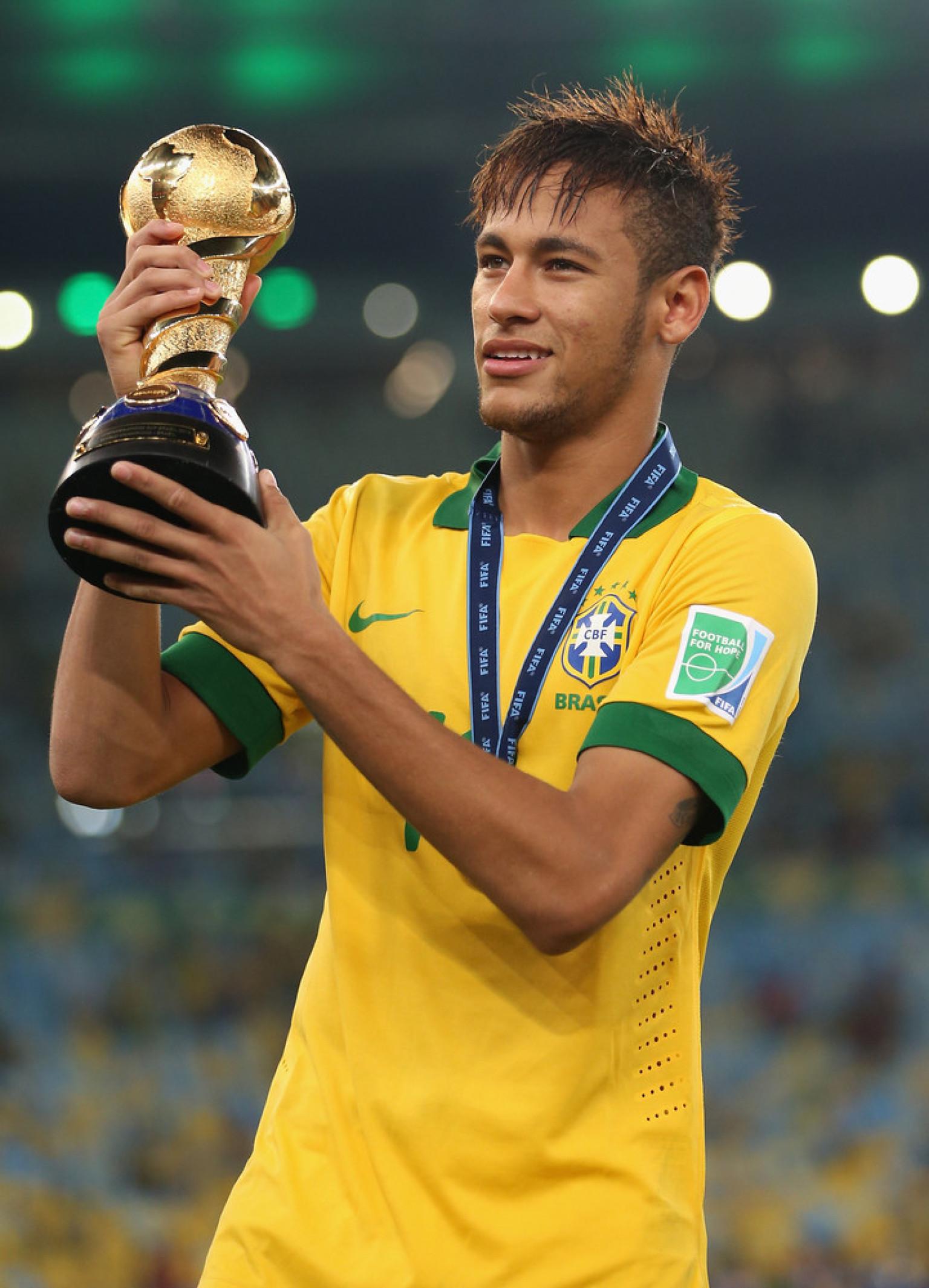 Neymar Da Silva Shines In Confederations Cup Final Brazilian Striker Defies Critics VIDEO