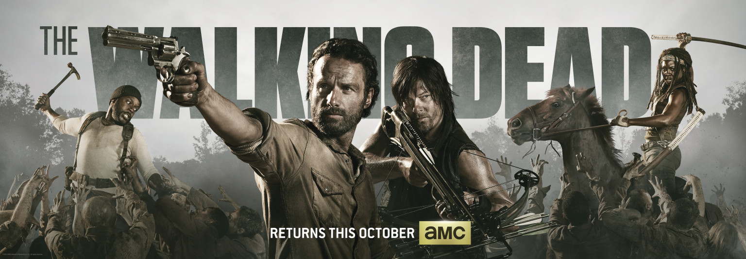 The Walking Dead\' Season 4 Comic-Con Poster Revealed (PHOTO) | HuffPost