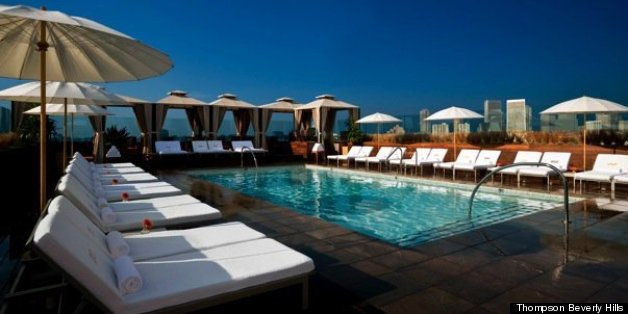 Best Hotel Pools In La These Are An Art Form Photos