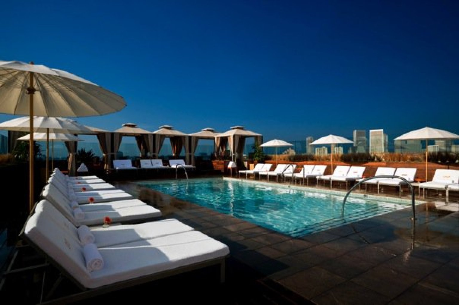 Best hotel pools in la these pools are an art form - Hotels in dundalk with swimming pool ...